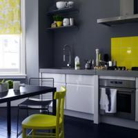 Keuken Muren Schilderen.Grijze Keuken