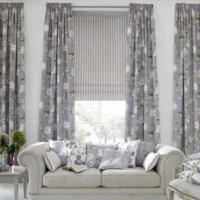 grijze raamdecoratie slaapkamer, Meubels Ideeën